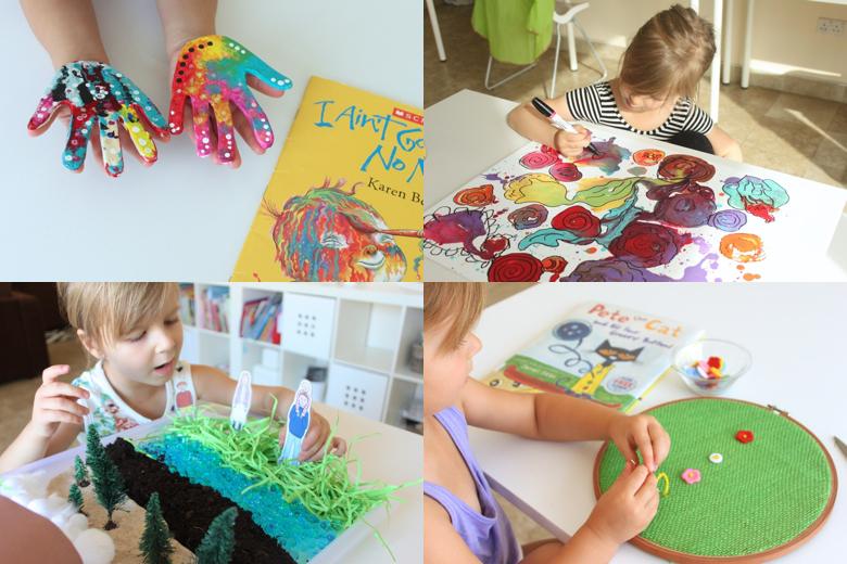 Preschool Book Club Activities
