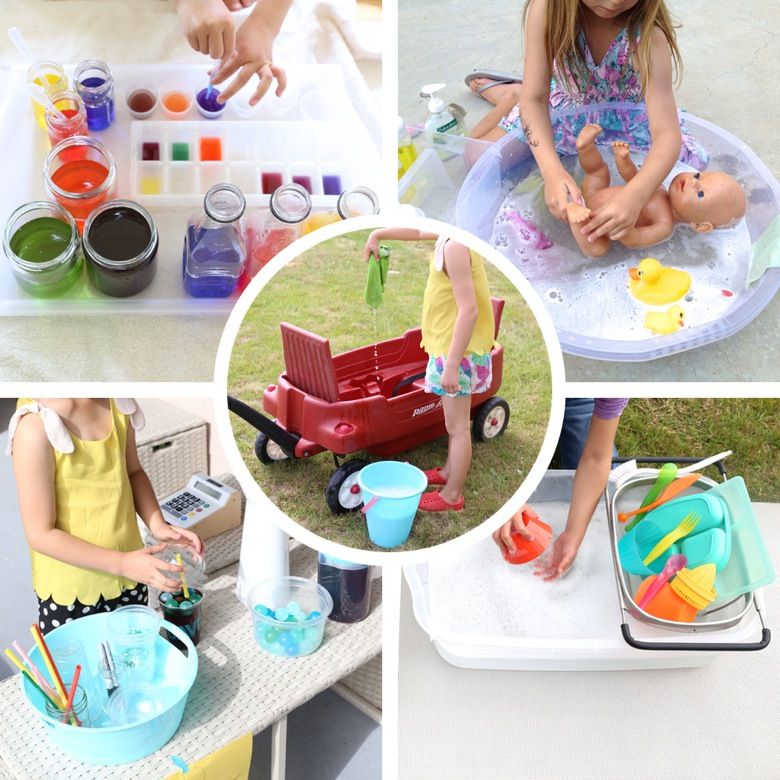 Water Play Ideas | Mama Papa Bubba