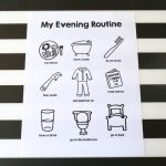 Printable Evening Routine Chart