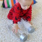 {Baby Play} Exploring Hot and Cold