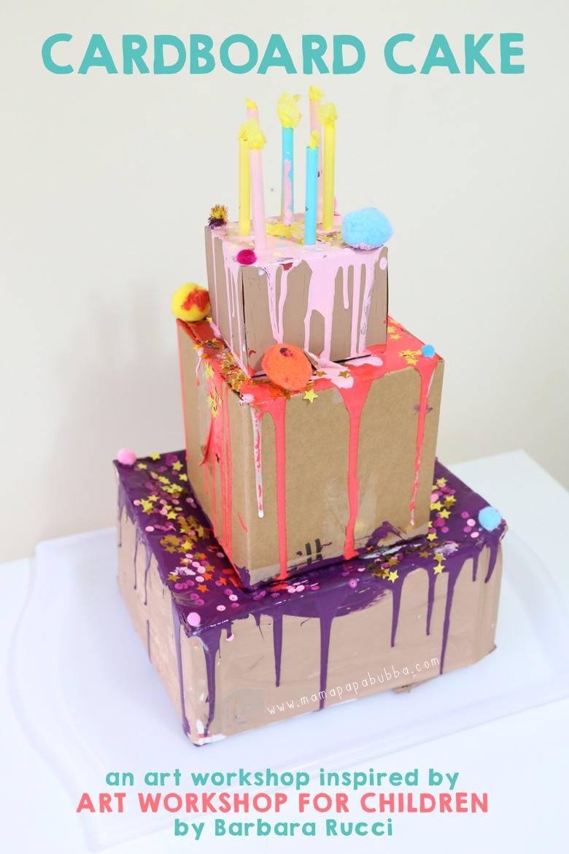 Cardboard Cake | Mama Papa Bubba