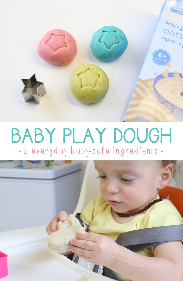 Baby Play Dough | Mama Papa Bubba