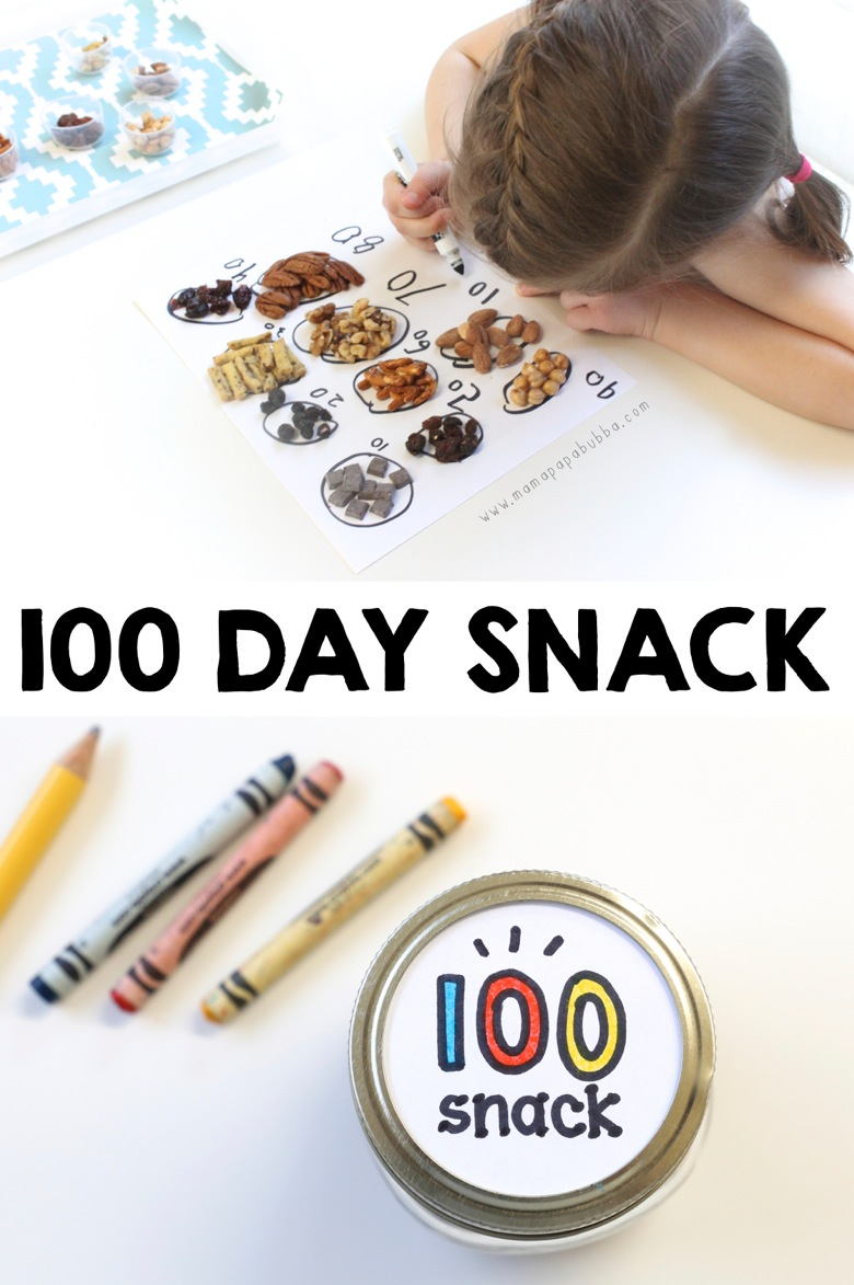 100 Day Snack | Mama Papa Bubba