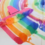 Easy DIY Rainbow Painter