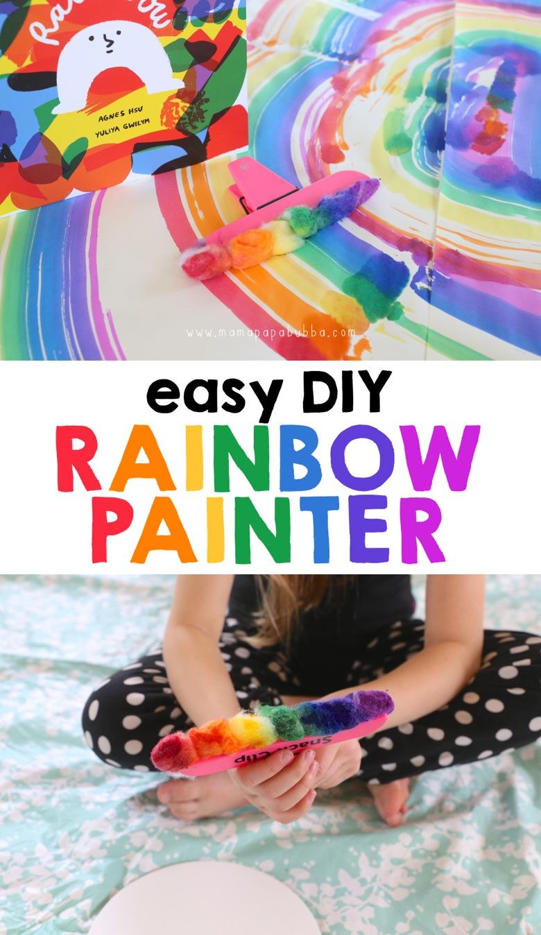 Easy DIY Rainbow Painter | Mama Papa Bubba