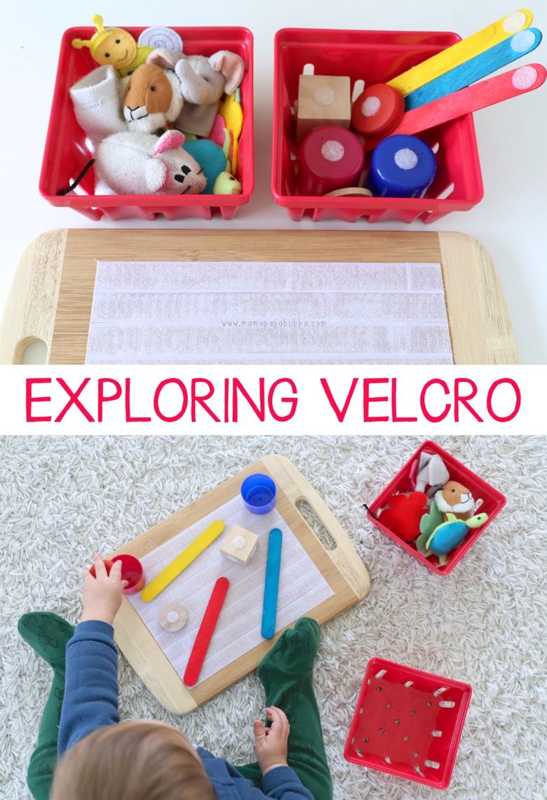 Exploring Velcro | Mama Papa Bubba