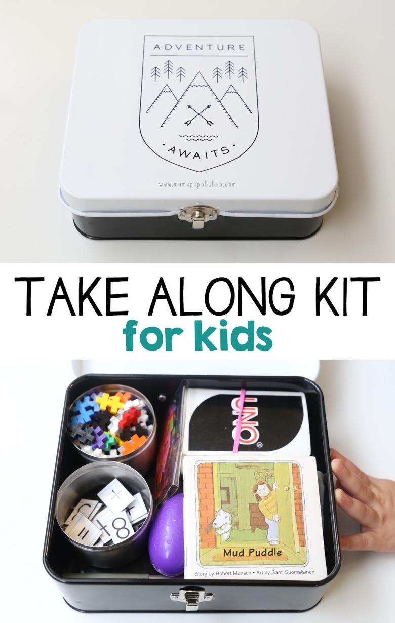 Take Along Kit for Kids | Mama Papa Bubba