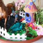 Play Dough Fairy Gardens