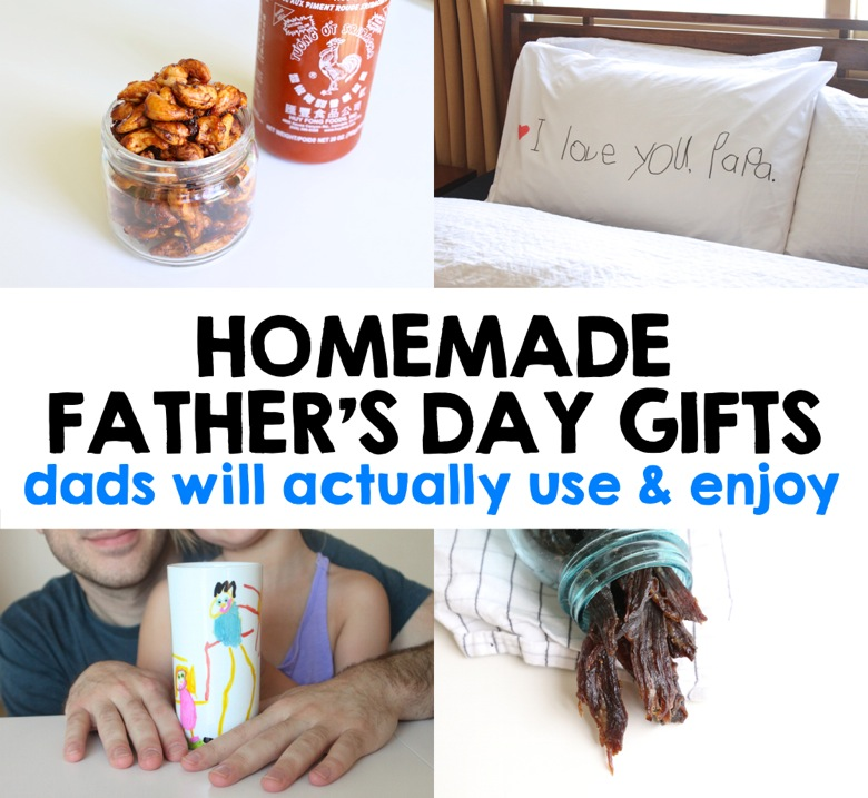 Homemade Father s Day Gifts | Mama Papa Bubba