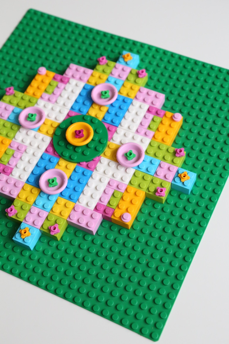 Afterwards Miss G Went On To Create Her Own Independent LEGO Mandala A Smaller