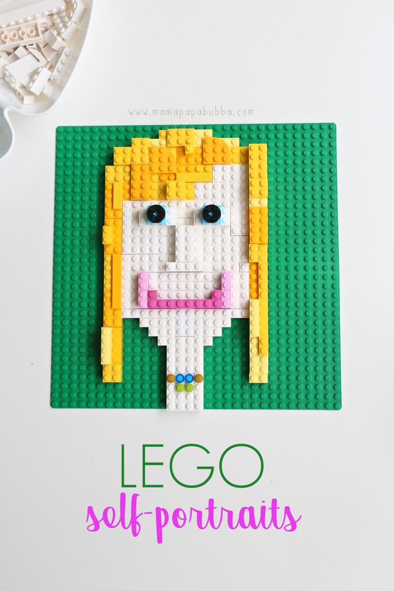 LEGO Self Portraits | Mama Papa Bubba