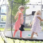 Celebrating the Sun With A Trampoline Party
