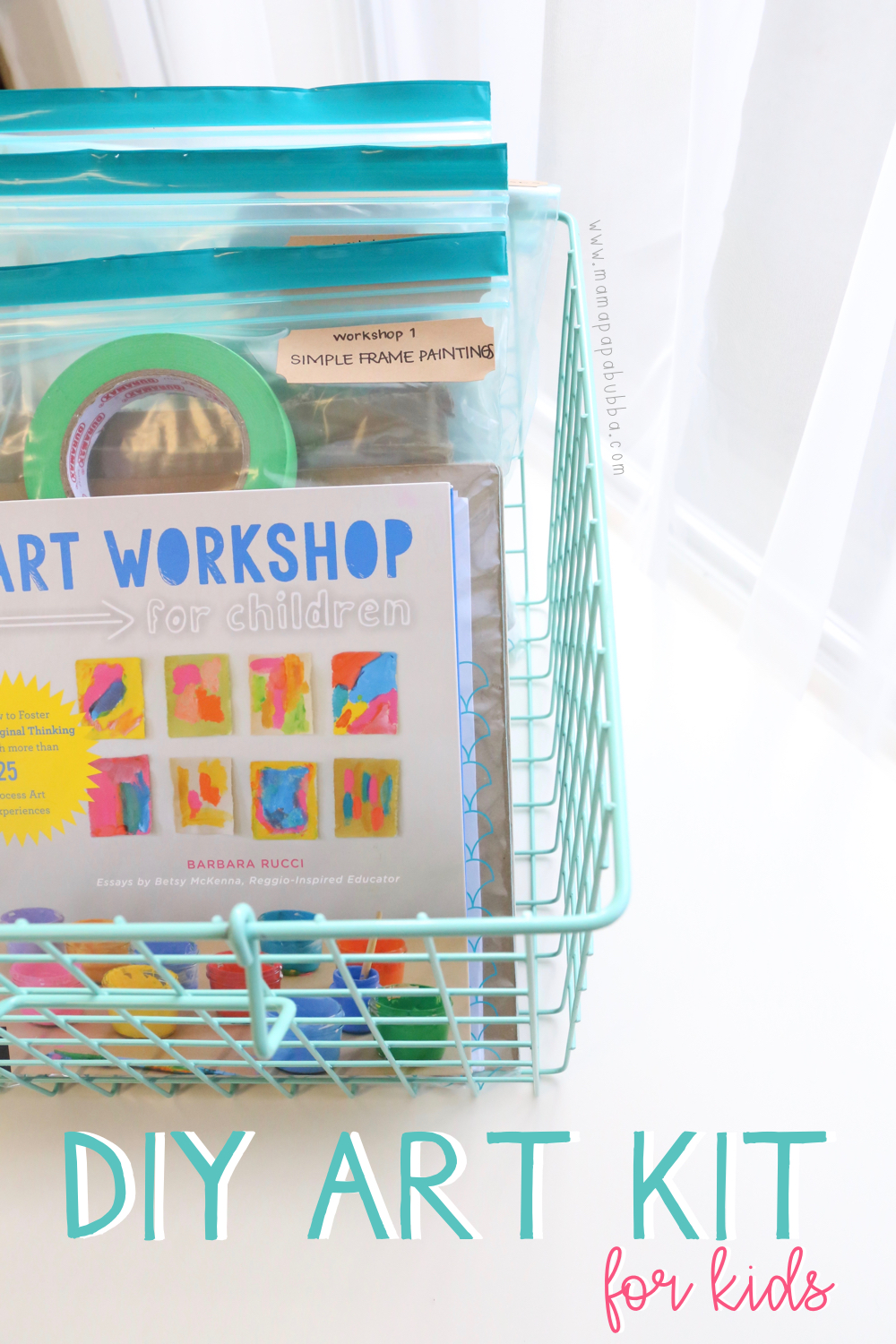 DIY Art Kit for Kids | Mama.Papa.Bubba.