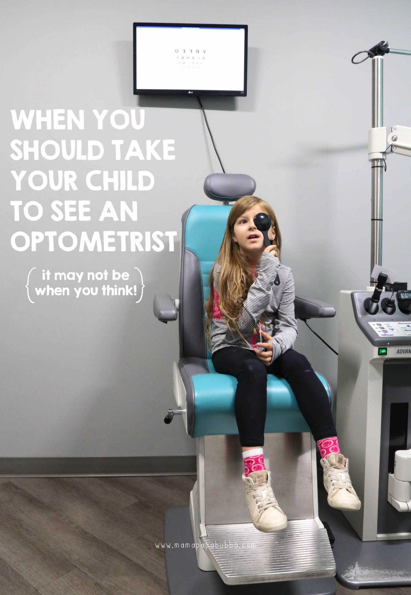 When You Should Take Your Child To See An Optometrist | Mama Papa Bubba