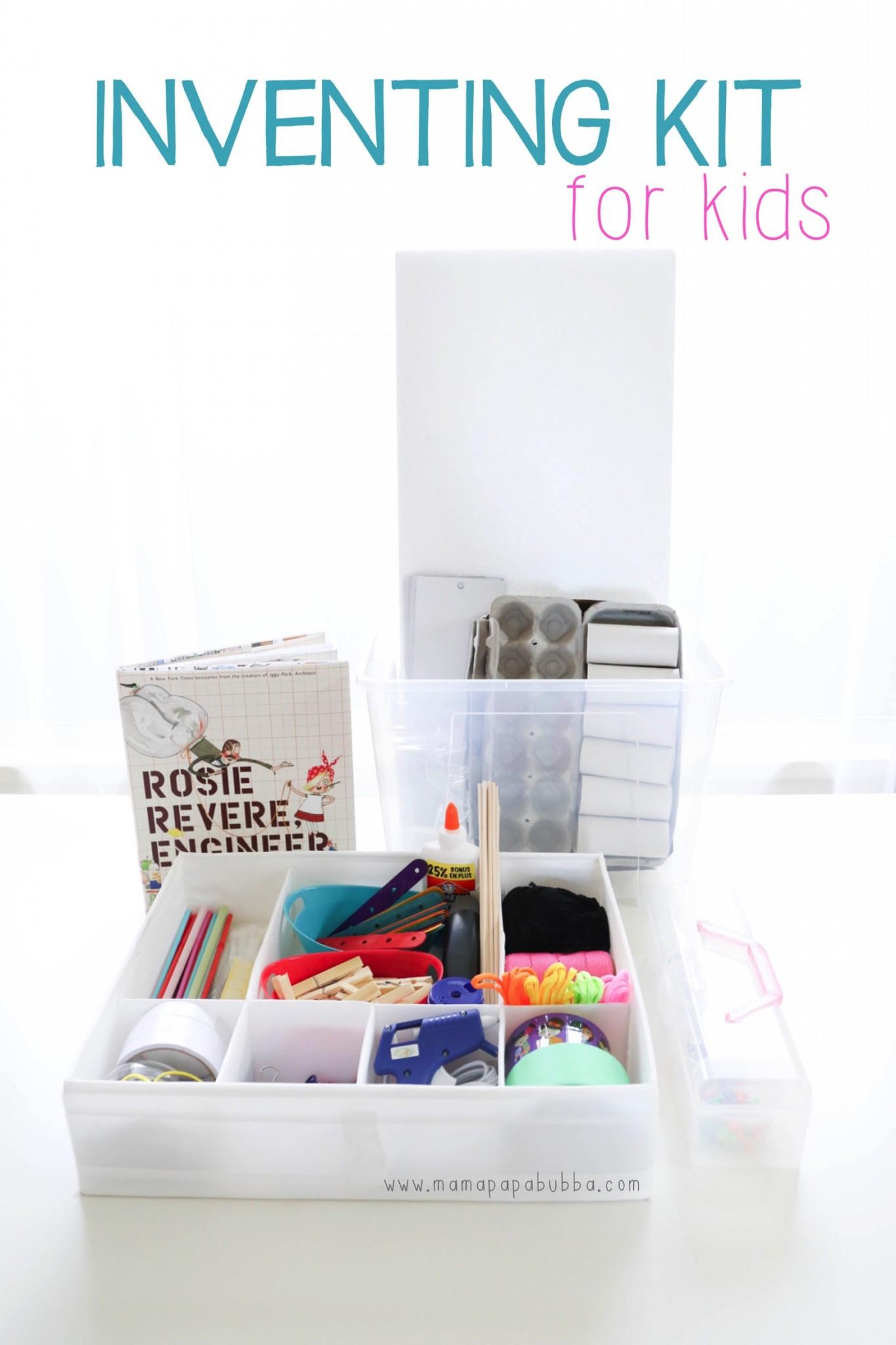 Inventing Kit for Kids | Mama Papa Bubba