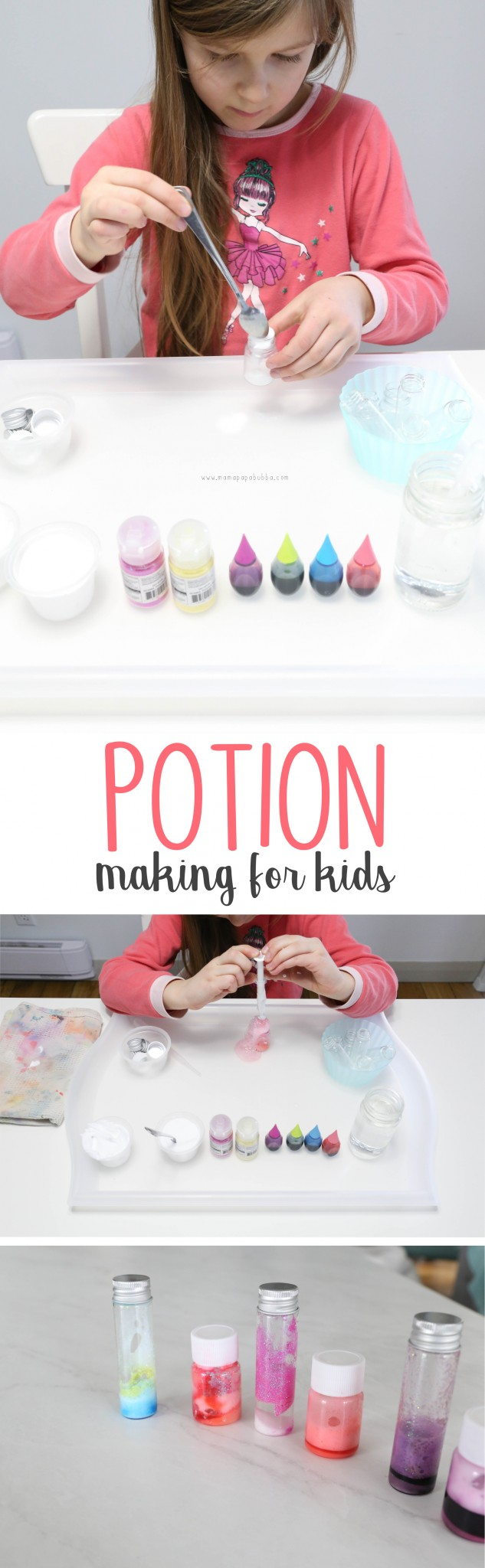 Potion Making Station for Kids | Mama.Papa.Bubba.