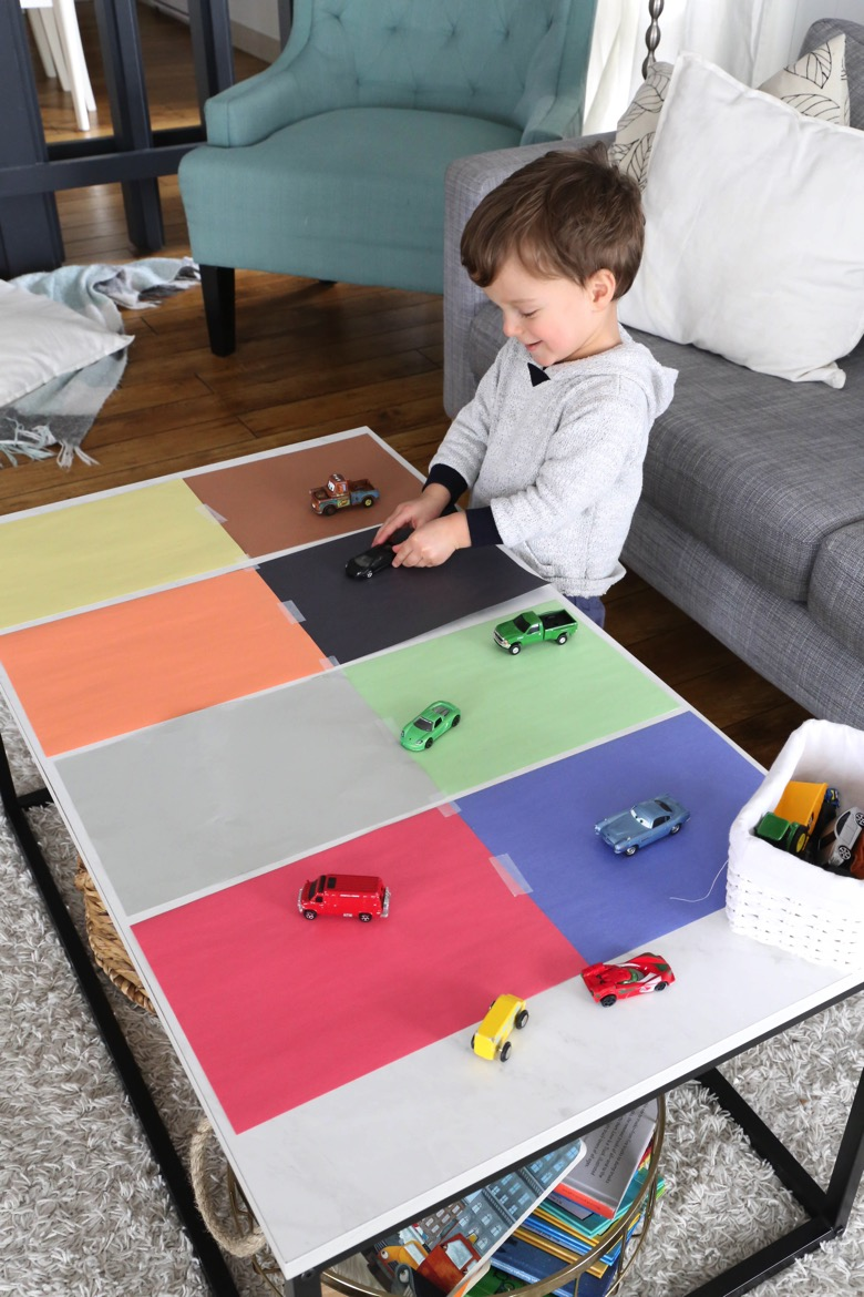 Car and Truck Colour Sorting