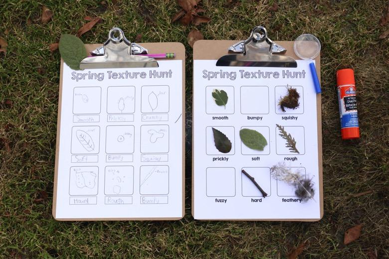 Spring Texture Hunt