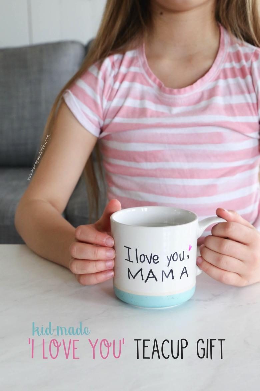 I Love You Teacup Gift | Mama Papa Bubba