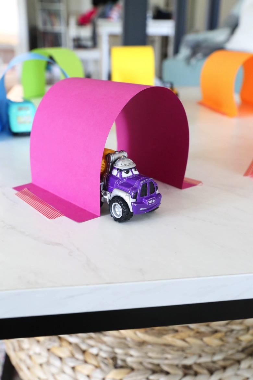 Easy Paper Tunnels | Mama.Papa.Bubba.