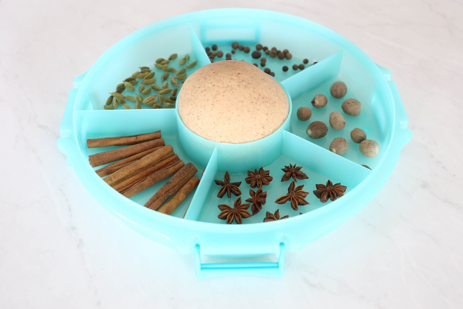 Autumn Spice Play Dough with Whole Spices