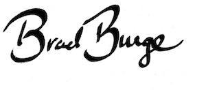 Brad Burge signature
