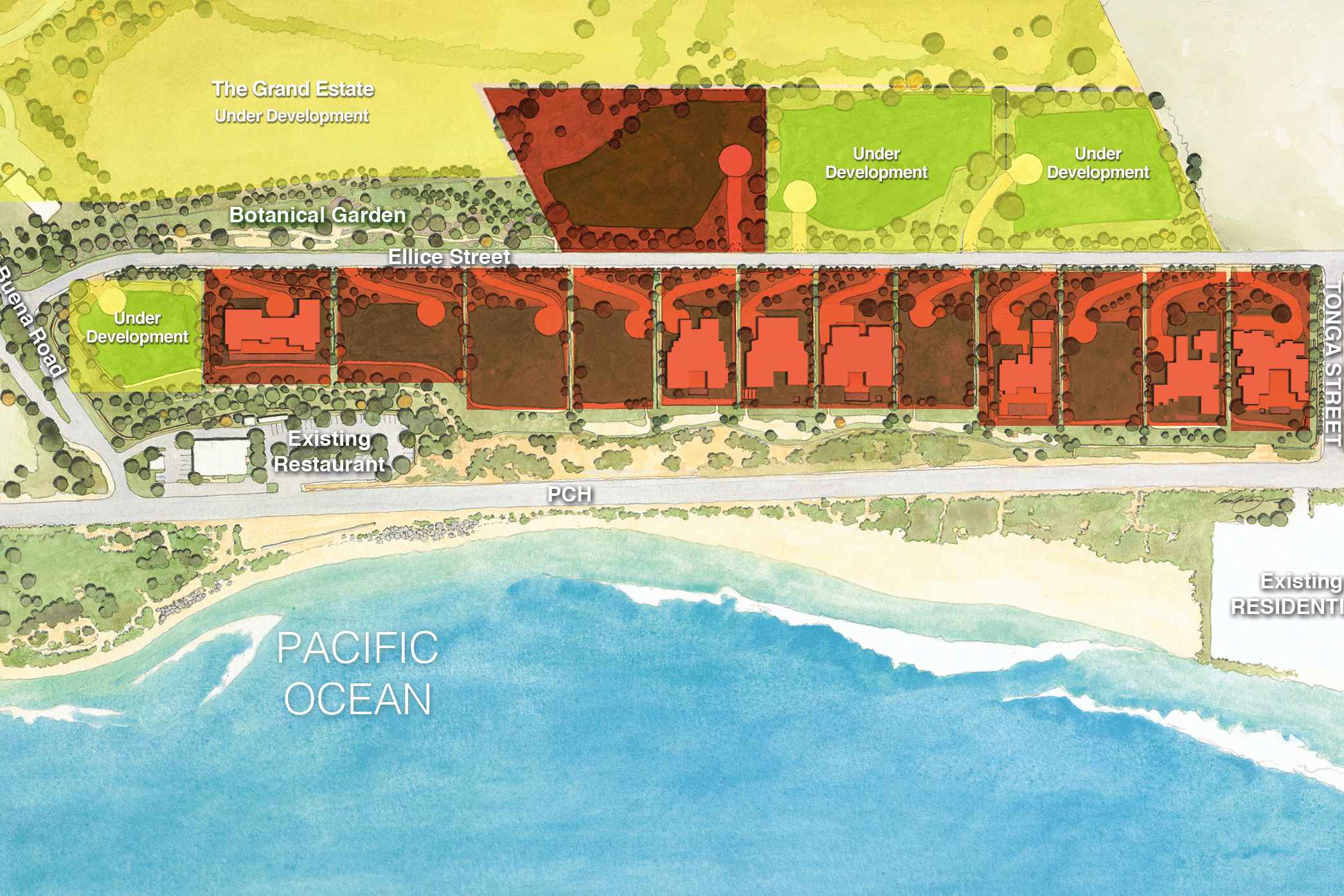 Marisol Malibu Properties Map