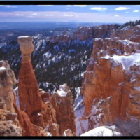 BryceCanyon on black with border