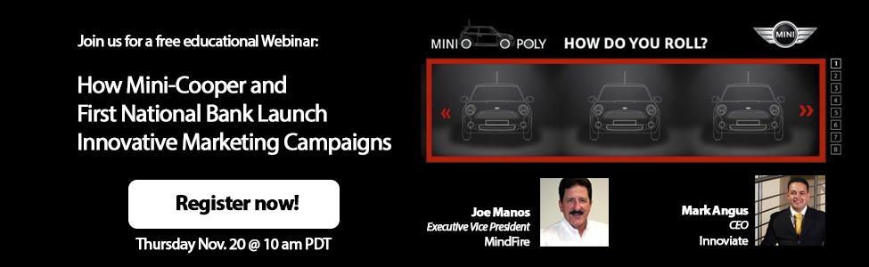 Join MindFire Webinar on November 20