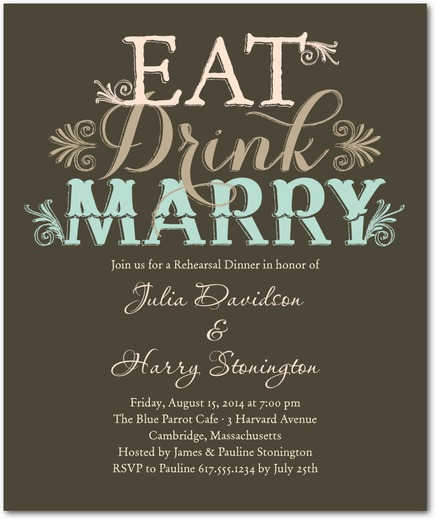 wedding paper divas one more day to save my hotel wedding With rehearsal dinner invitations wedding paper divas