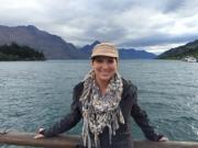 Enjoying the beauty of Queenstown, New Zealand