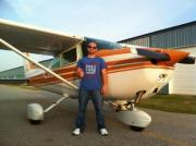 MY First Solo Flight
