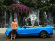 Our car in Maui!