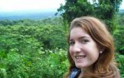 Hiking in Honduras.