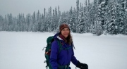 On lightning Lake, Manning Park. Dec. 2015