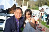 with my Niece.