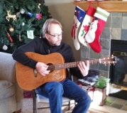 Love my guitar, just wrote a song about Christmas