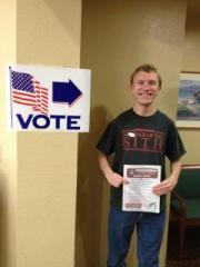 2012primary,1st vote