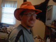 Me in my new hat!