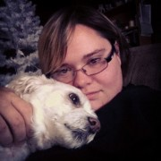 My dog Max and me