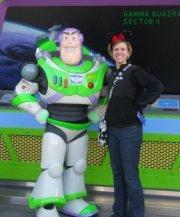 me & buzz @ disney