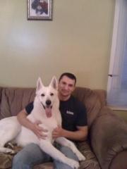 My puppy Isaac
