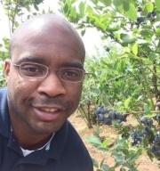 Picking berries 6/14