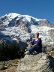 Hiking Mt Ranier