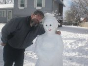 Me and snowlady