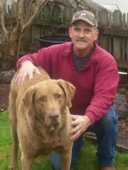 My dog Zack and I