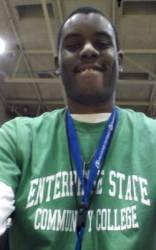 me @ ESCC 2016 Homecoming Basketball  Game