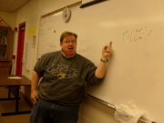 This is me teaching!