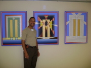 Showing my paintings