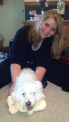 My dog Mia May 2012